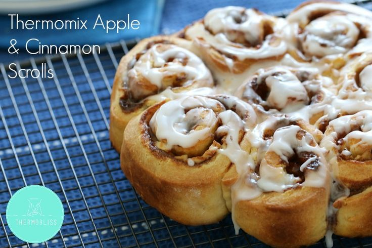Thermomix Apple & Cinnamon Scrolls