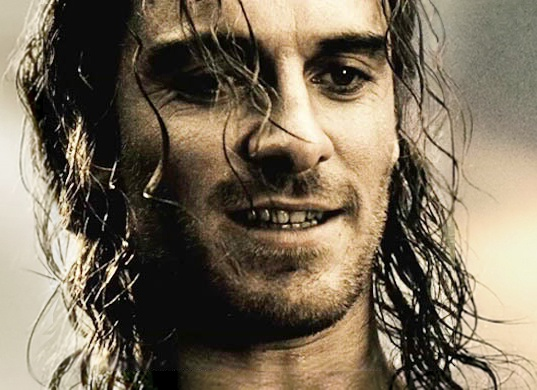 Michael Fassbender as Stelios in 300 (2006)<---How did I miss that? maybe cause the only reason i watched it was because of Gerard Butler, lol.