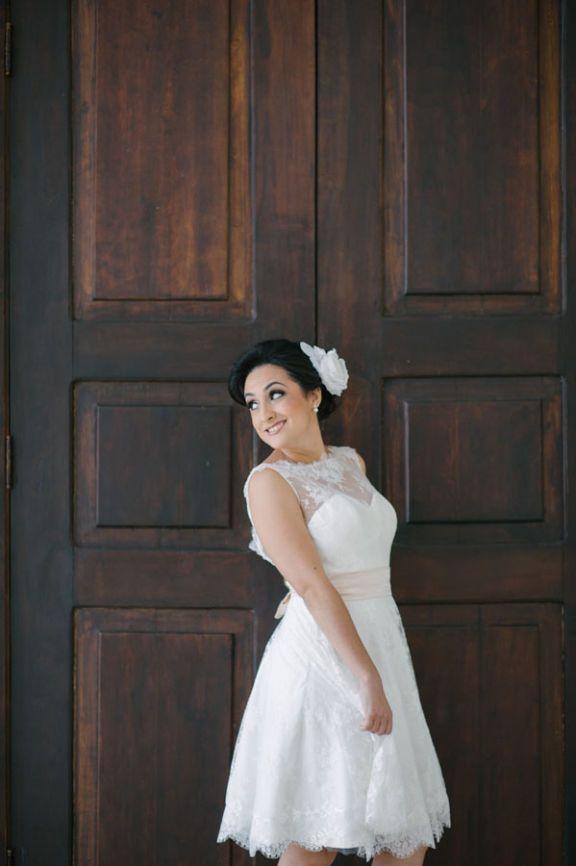 vestido de noiva curto - 995904 | enjoei :p