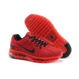 Nike Air Max Rot Schwarz Herren