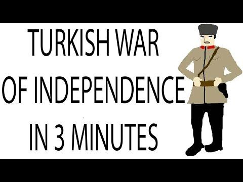 Turkish War of Independence | 3 Minute History - YouTube