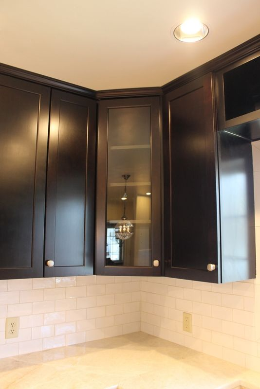 Kitchen With Chesapeake With Coffee Glazed Cabinets