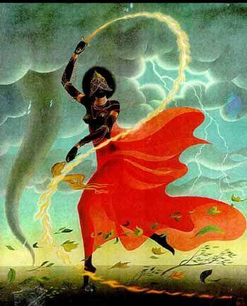 Iansã-Oiá :deusa africana dos ventos e tempestades