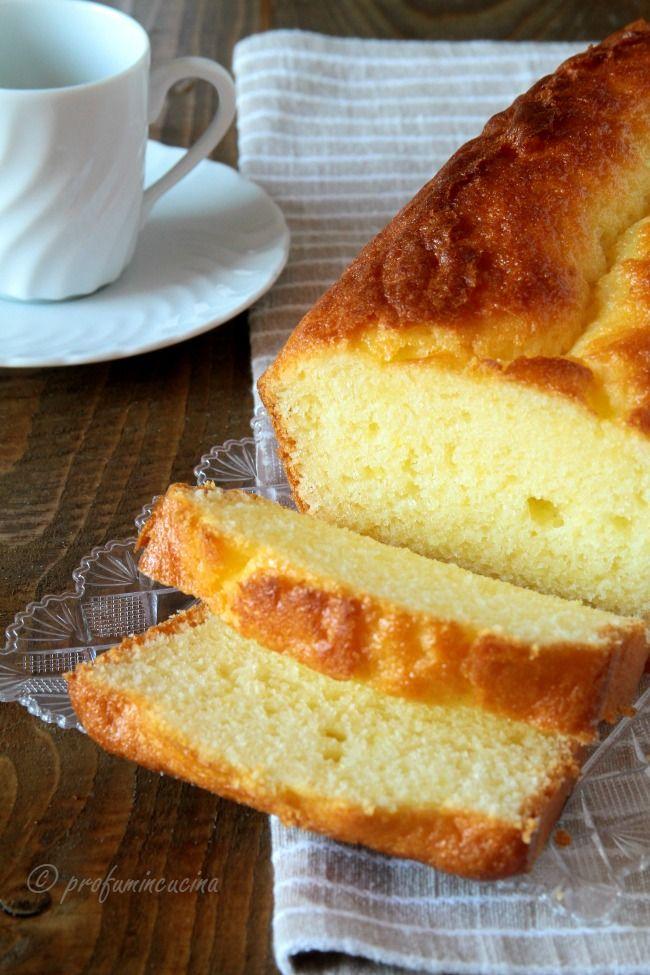 Profumi in cucina: Plumcake soffice allo yogurt