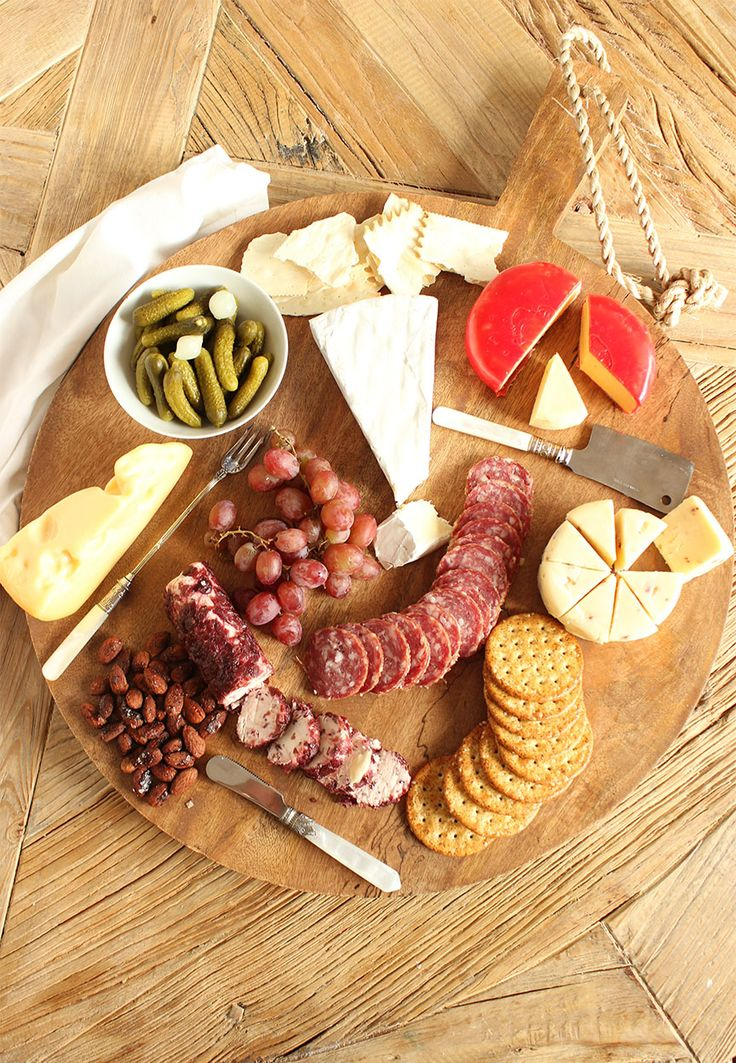 Create the ultimate cheese board without spending a fortune. A variety of cheeses and textures are the perfect way to get your party started.
