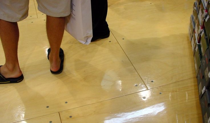 allan key plywood floor