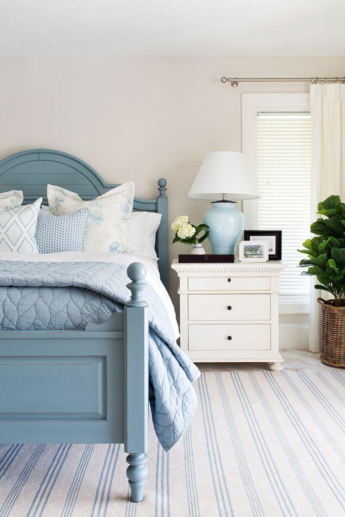 308 best BLUE BEDROOMS images on Pinterest Bedroom ideas Blue