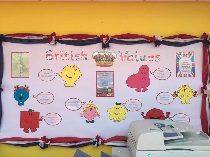 British Values display - KS1