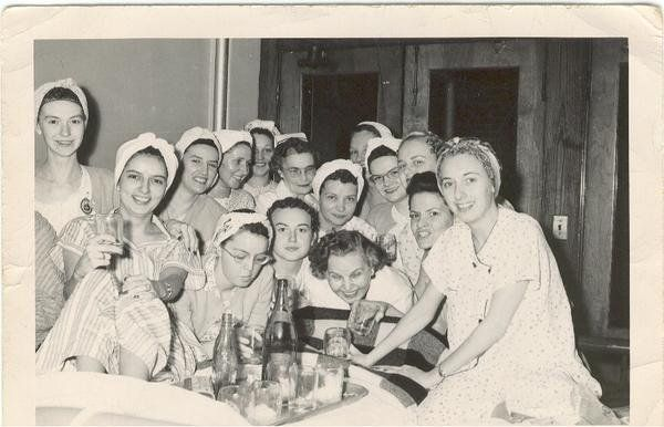 Amy Saltsman‎: The Waverly Hills Sanatorium: This is a Pic of my Great Aunt when she was in Waverly Hills with TB. Looks like they were having a good time to me. LOL. Facebook