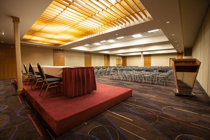 Edmonton Hotel and Convention Center - Western Conference B - VenueJar.com - - Plan your next Christmas party or corporate training event in this room. Maximum capacity is 160 people.