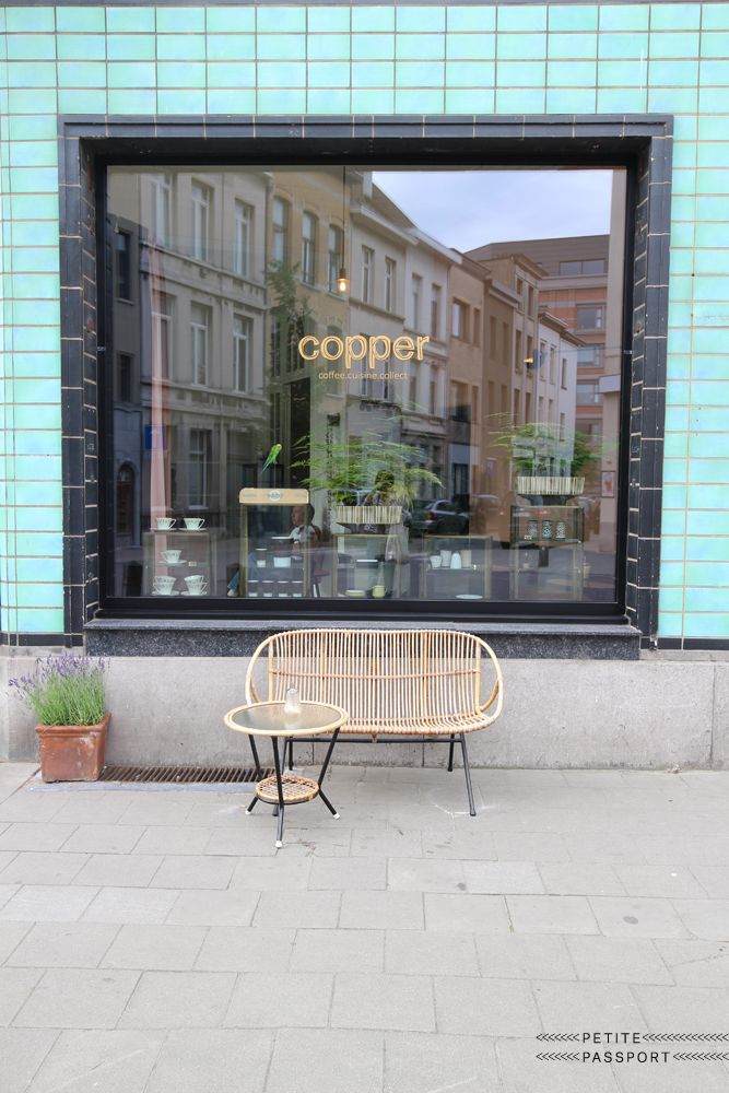The first thing that strikes you at Copper in Antwerp is the great facade. 'That was there even before we bought this building' tells...