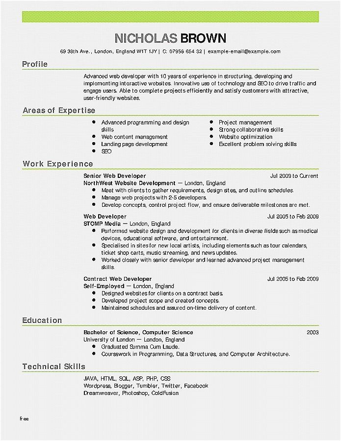 Resume Format Employers Prefer Resume Format Statement Template Resume Examples Resume Format