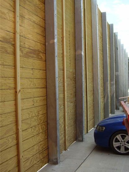 Acoustic Ply Fence