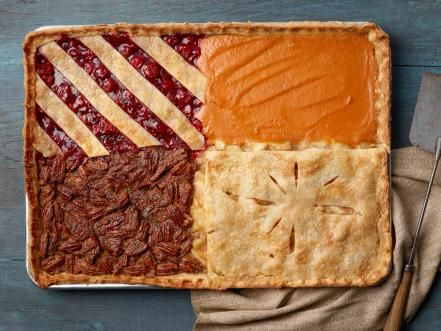 Get Thanksgiving dessert recipes, including pumpkin cake, pumpkin cheesecake, apple pie and pecan pie, from Food Network.