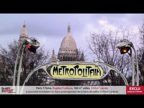 Replay S01E01 En Quête d'Appart' Paris 17 - 30/01/2016 - Bruno WAITZMANN & Olivier CASADO - YouTube