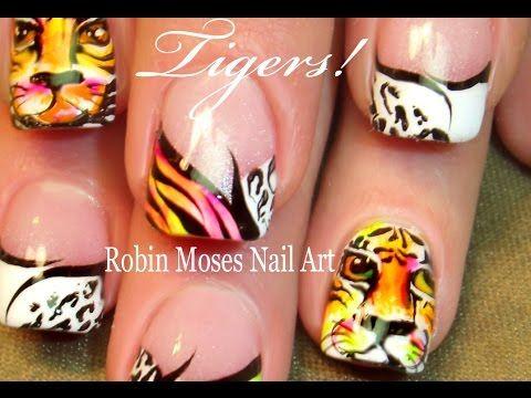 The 25 best tiger nails ideas on pinterest tiger nail art tiger mail art diy neon hot animal print summer nails design tutorial prinsesfo Gallery