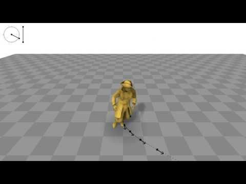 Phase-Functioned Neural Networks for Character Control - YouTube