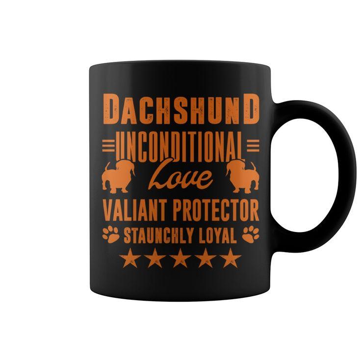 Dachshund Love and Loyalty Mug - dachshund gifts awesome ...