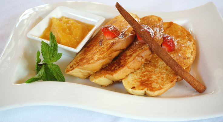 Breakfast is the most important meal of the day... Brioch French Toast with Pineapple Compote!  E: info@thegrovebalivillas.com | T: +62 361 847 5138  #balibible #thegrovevillas #bali #breakfast #deliciousbali #delicious #yum #thebalibible #thebaliguideline #frenchtoast