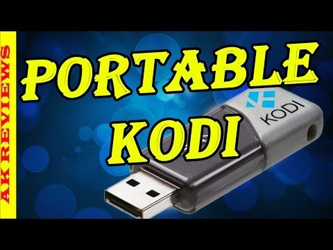 How to Install XBMC KODI on a USB Flash Drive (Portable Kodi 16) - YouTube