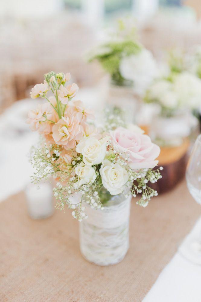 A Rustic Pretty Pastel Spring Wedding