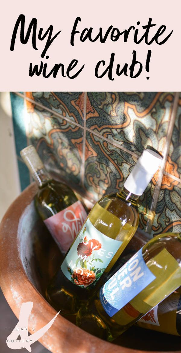 Do you belong to a monthly wine club? This one is the best! The design is gorgeous the names are fun and the membership is flexible so you only buy when you want to! Click through to see why I love it so much!