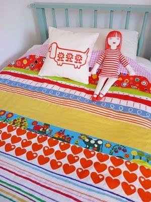 jane foster's scandinavian quilt - adorable!