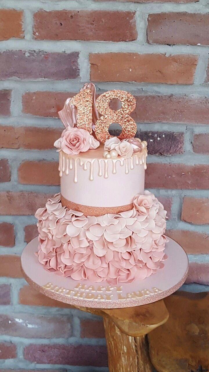 Pin By Martina Jertec On 18th Birthday Cake In 2020 Birthday