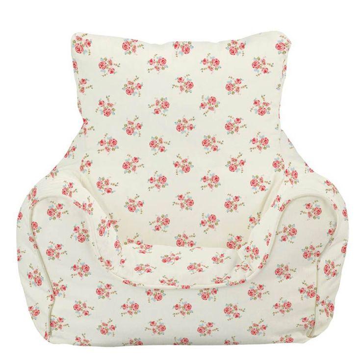 bean bag chair rose natural