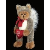 Valentine's Bearington Bear Nuts About You - Squirrel Dressed Bear (Toy)  #valentineday www.giftsforbelovedones.com