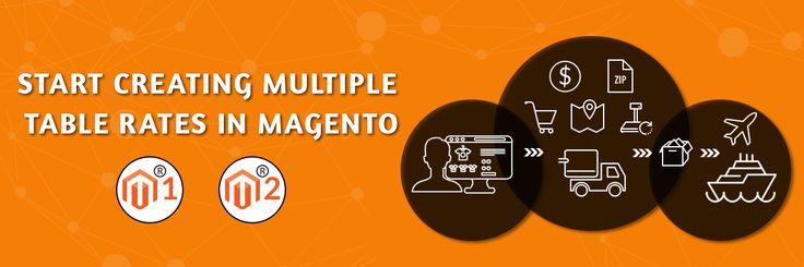 Create Multiple Table Rates In Magento : Premium Matrix Rate - http://cedcommerce.com/blog/magento2/create-multiple-table-rates-magento-premium-matrix-rate/