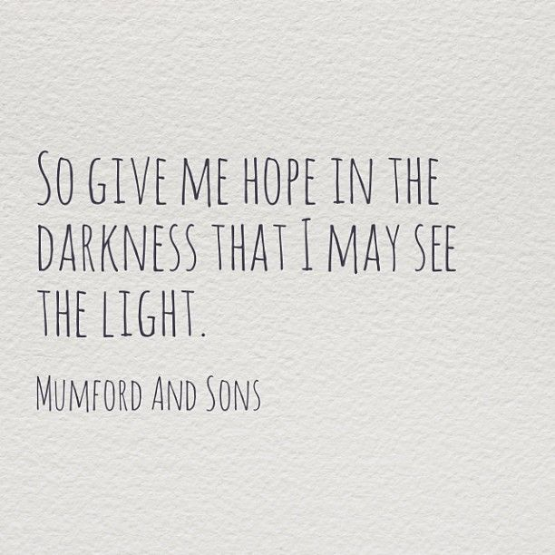 darkness is only the absence of light, light need not be the absence of darkness