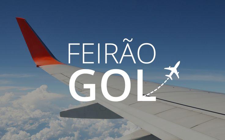 Mega promoção de passagens gol a partir de R$77,90, passagens aéreas em promoção da Gol linhas aéreas na Mega promo gol 2017 | Confira agora.
