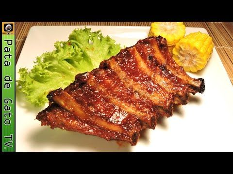 Costillas de cerdo barbecue, paso a paso / BBQ pork ribs, step by step. - YouTube