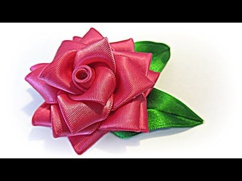 Rose en ruba - tuto facile - YouTube