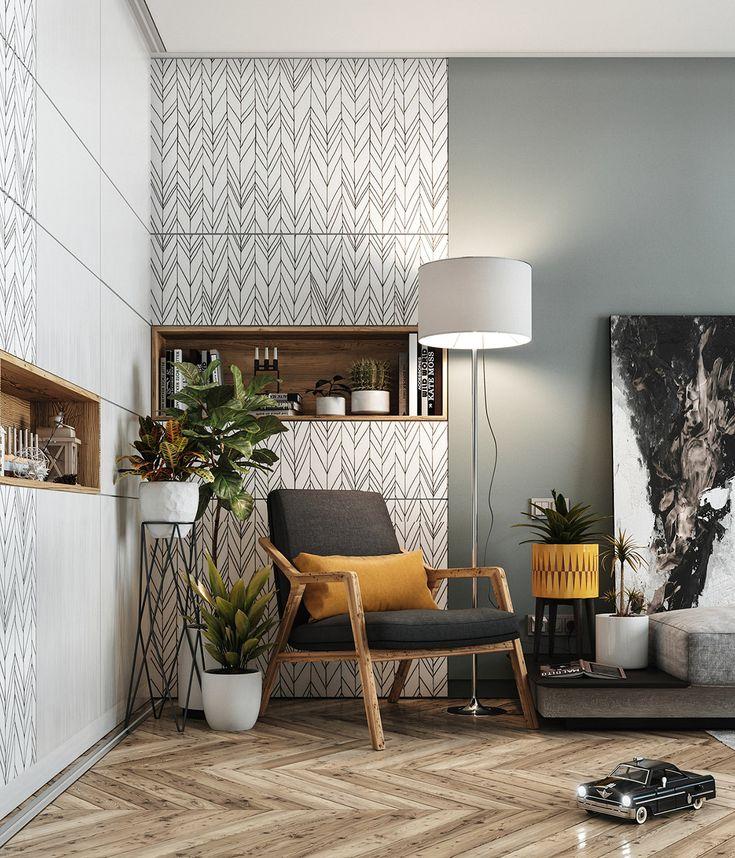 5 Fresh & Funky Scandinavian Style Home Interiors