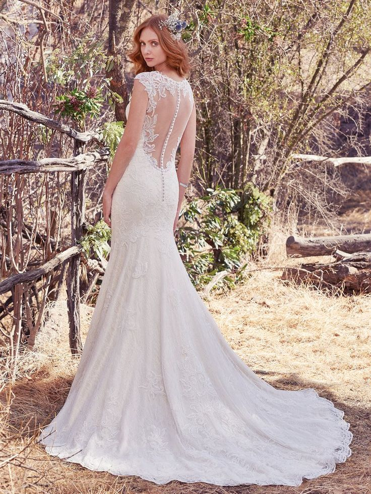 204 best maggie sottero gowns images on pinterest for Maggie sottero short wedding dress