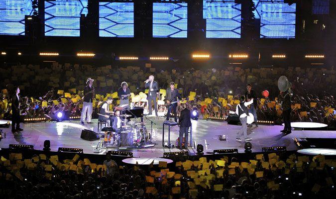 #SOLE live at Stadio Olimpico - Rome  @negramaro  #luforum
