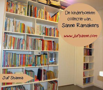 Juf Sanne, van jufsanne.com, vertelt over haar kinderboeken collectie in het item 'De kinderboeken collectie van...'