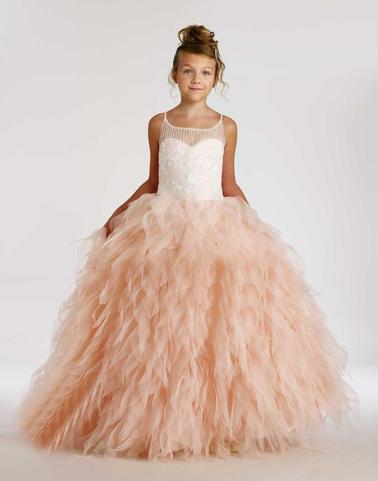 17 best images about pink flower girl dresses on pinterest