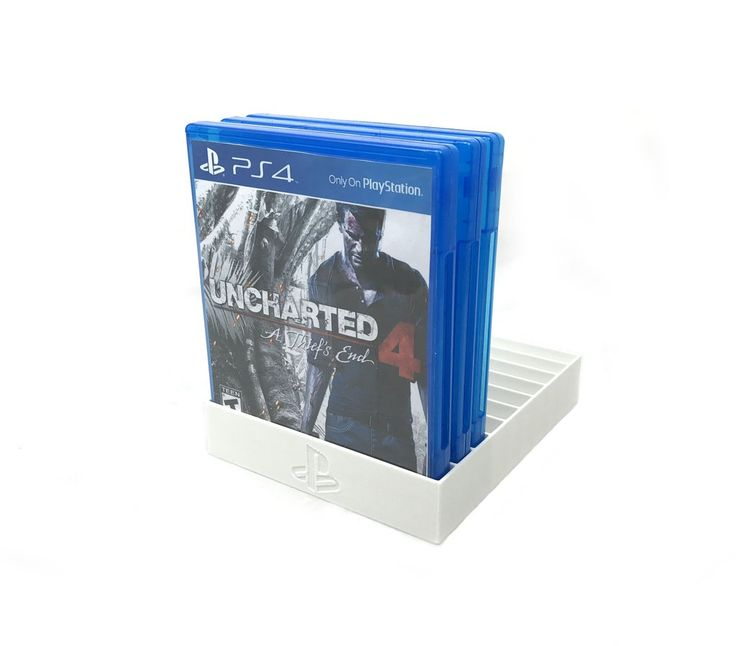 White PS4 Game Tray