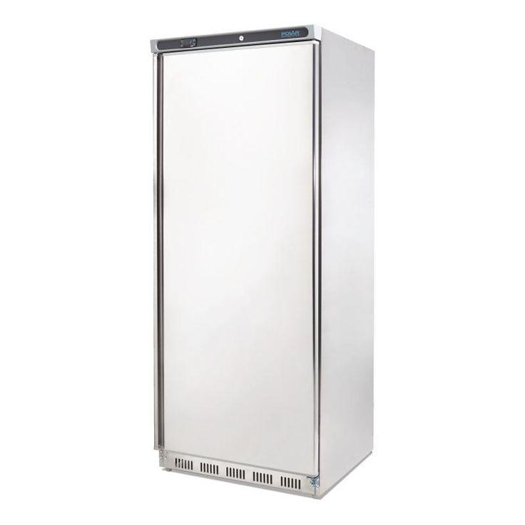 Polar Single Door Fridge 600Ltr Stainless Steel