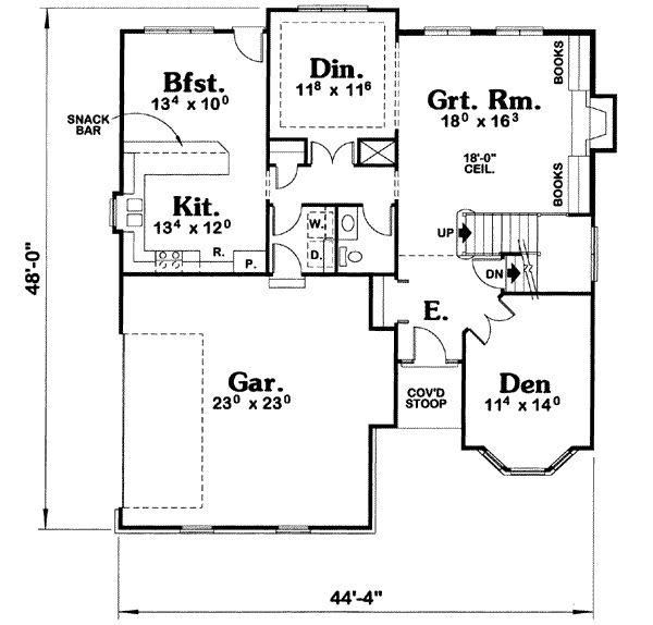 89 best house plans images on Pinterest | Cottage house plans ...