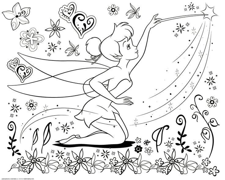 Раскраски дисней (Disney) для девочек распечатать » Страница 63