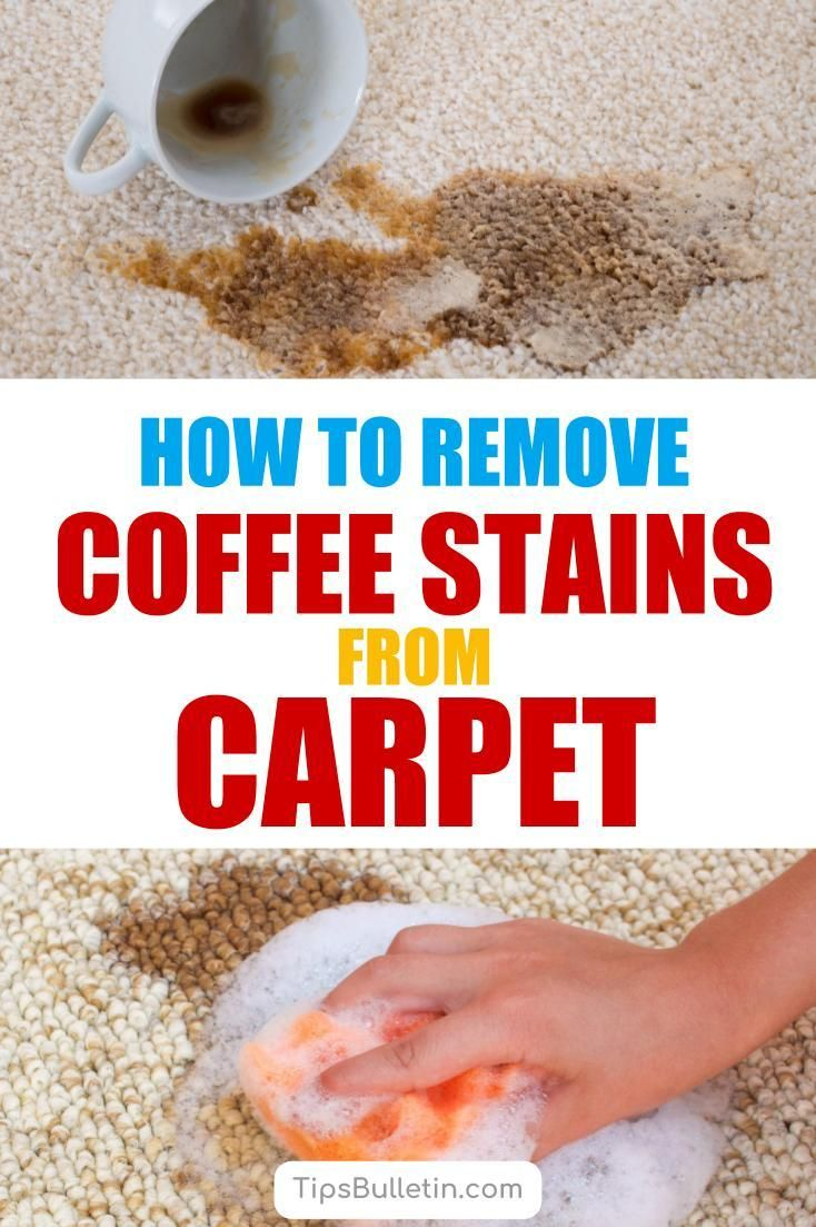 6 Incredibly Easy Ways To Remove Coffee Stains From Carpet Coffee Stain Removal Coffee Staining Stain Remover Carpet