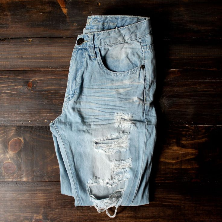 distressed jeans distress boyfriend jeans vintage inspired details spring summer outfits women's clothing online boutique