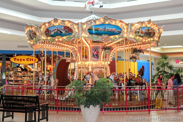 Cary cary towne center mall carousel train play place for An new world cuisine cary nc