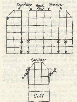 GRANNY SQUARE CAOT PATTERN, from grandmotherspatternbook.com