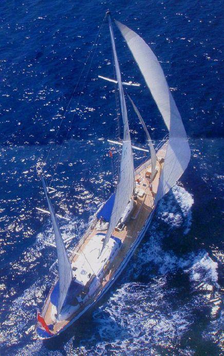 1961 Custom-Built Expedition Yacht Atalante Vela Barca