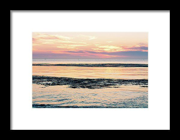 Summer Sunset Framed Print by Mc. All framed prints are professionally printed, framed, assembled, and shipped within 3 - 4 business days and delivered ready-to-hang on your wall. Choose from multiple print sizes and hundreds of frame and mat options.